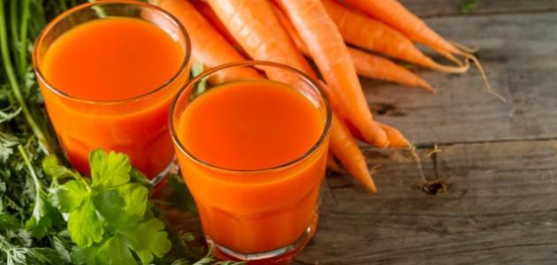 كيفية صنع عصير الجزر والبرتقال