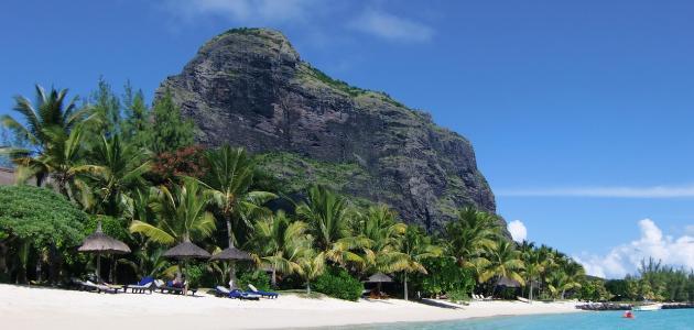 موقع جزر موريشيوس
