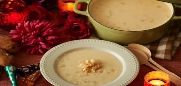 مكونات الحساء