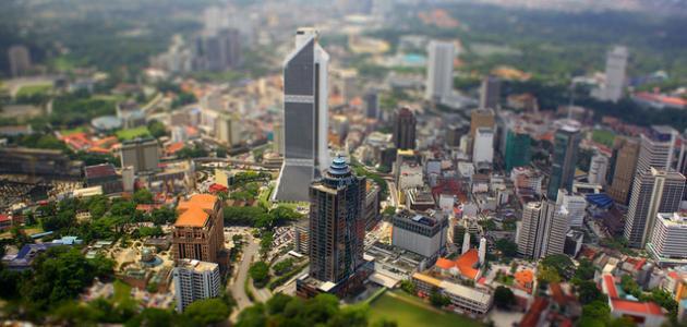 المدن في ماليزيا