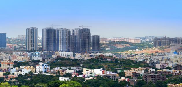 المدن في الهند
