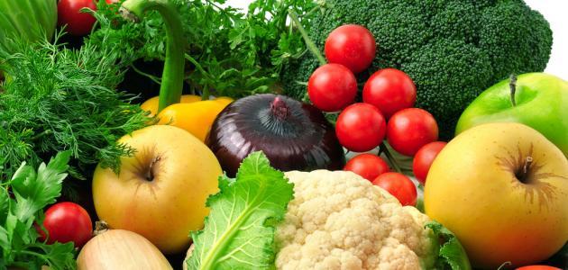 كيفية تصبير الخضر والفواكه