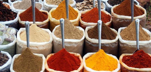 ما هي مكونات البهارات الهندية
