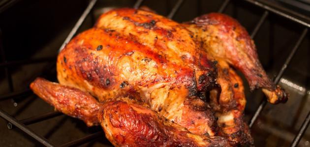 كيفية حشو الدجاج