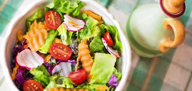 مكونات وجبة غداء صحية