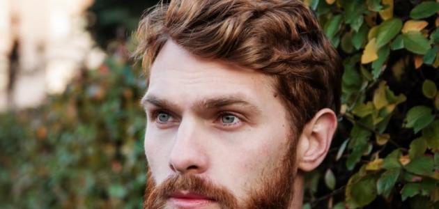 كيفية جعل الشعر مفروداً للرجال