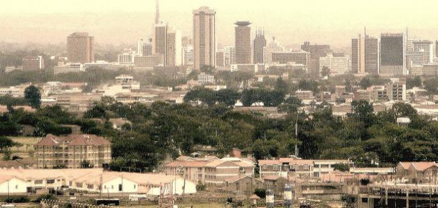 أين تقع دولة كينيا