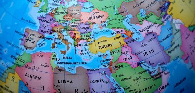 دول وعواصم قارة أوروبا