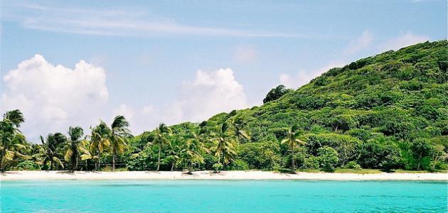أين تقع جزر الكاريبيان