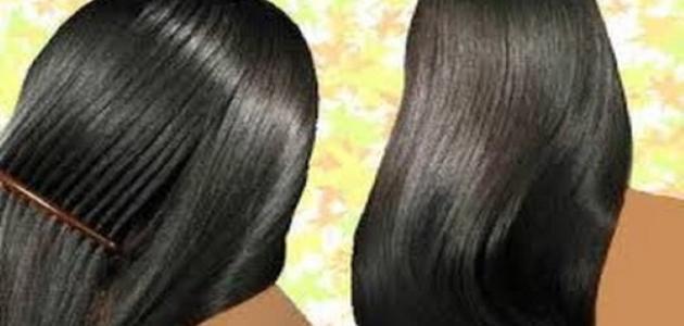 كيفية تنعيم الشعر بسرعة