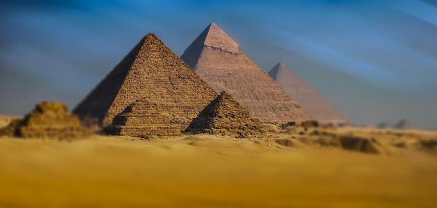 معالم مصر الفرعونية
