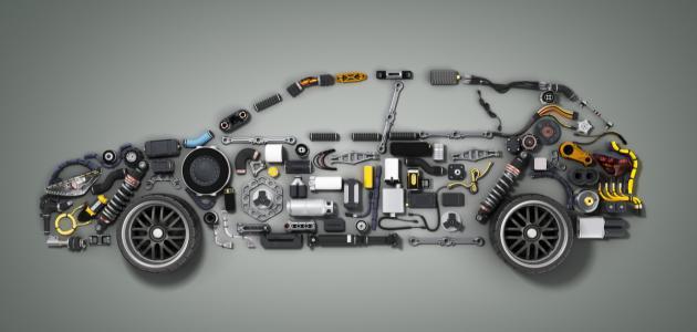مكونات السيارة الرئيسية