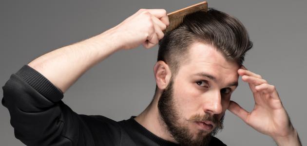 كيفية جعل الشعر رطباً للرجال