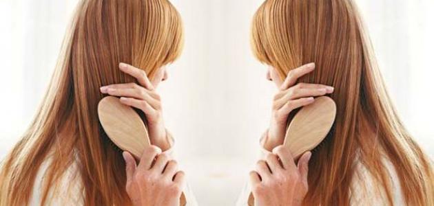 كيفية تمشيط الشعر