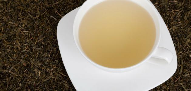 مكونات الشاي الأبيض