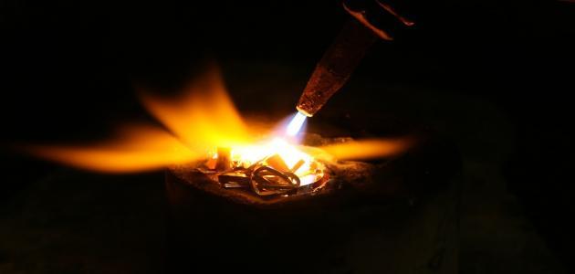 درجة انصهار الذهب