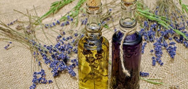 مكونات الزيت المقوي للشعر