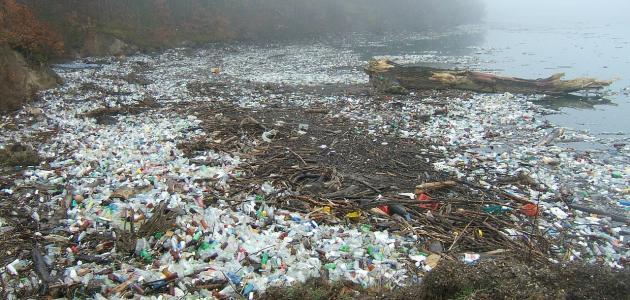أضرار تلوث البيئة بالنفايات