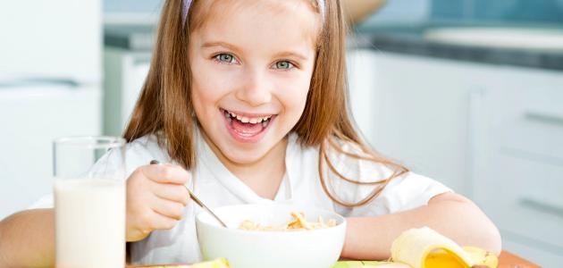 مكونات الفطور الصحي للأطفال