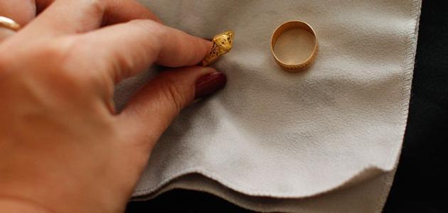 كيفية تنظيف الذهب
