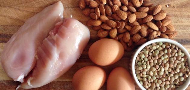 أسباب نقص البروتين في جسم الإنسان