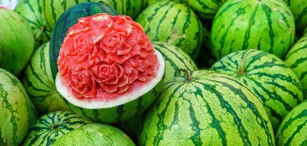 فوائد البطيخ لإنقاص الوزن