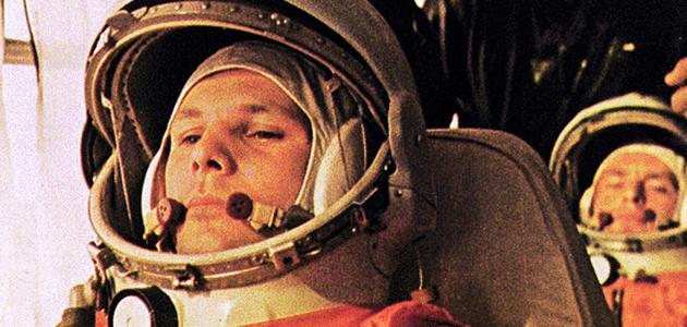 أول رجل ذهب إلى الفضاء