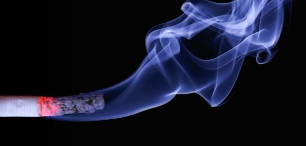 مكونات الدخان الكيميائية