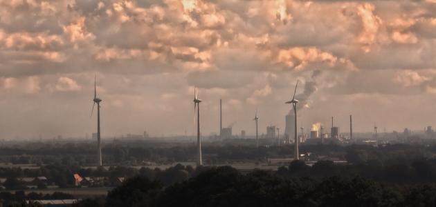 ما مصادر تلوث الهواء