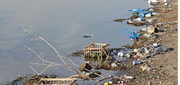 أسباب تلوث مياه النيل موضوع