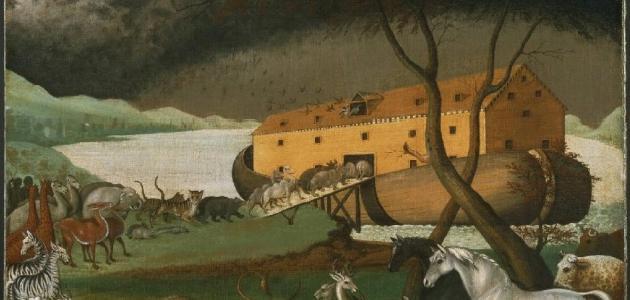 كم عدد طبقات سفينة نوح