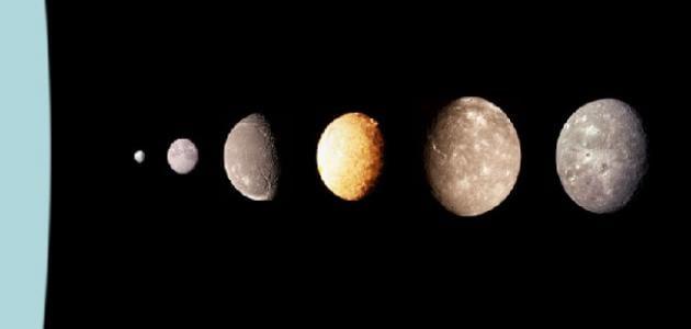 عدد أقمار أورانوس