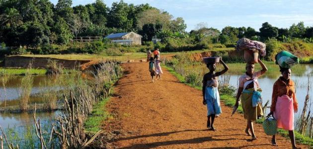 سكان جزيرة مدغشقر