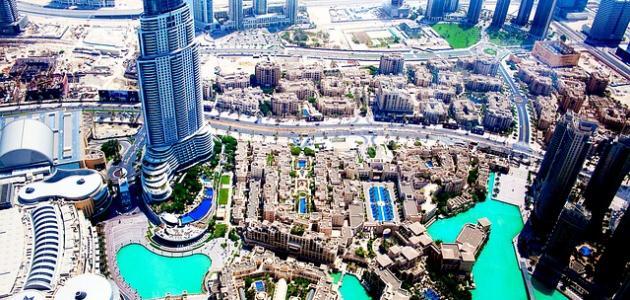 المعالم السياحة في دبي