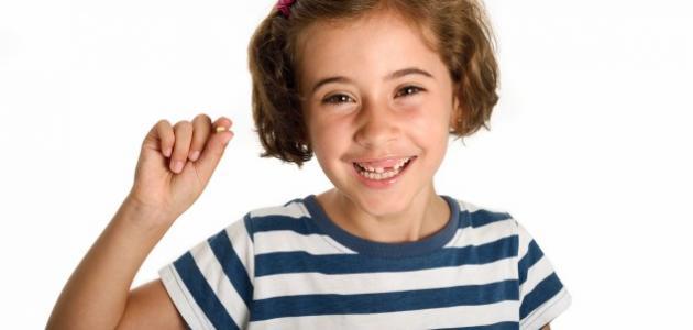 كم عدد أسنان الطفل
