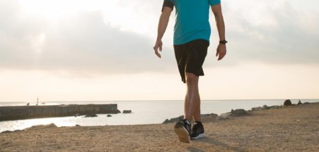 عدد السعرات الحرارية المحروقة في رياضة المشي
