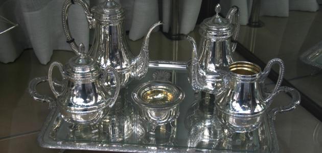 كيفية تلميع الفضة في المنزل