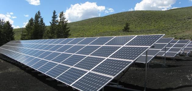 مكونات نظام الطاقة الشمسية