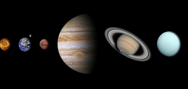 خصائص المجموعة الشمسية