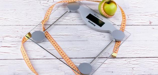 ما هو سبب عدم نزول الوزن بسرعة