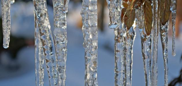 ما هي درجة تجمد الماء النقي عند الضغط العادي