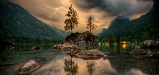 موضوع حول الطبيعة