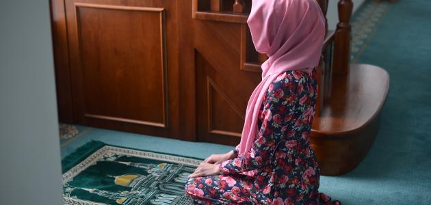 حكم الصلاة للحائض