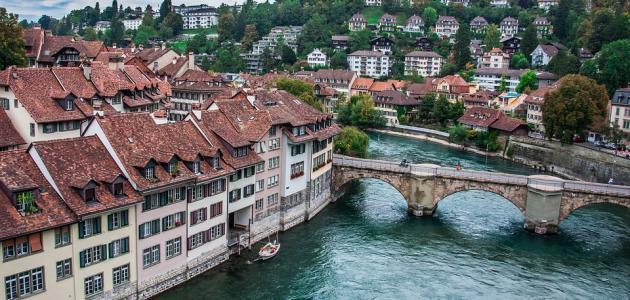 مدن في سويسرا