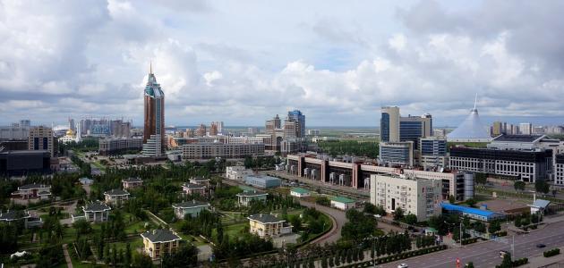 مدن كازاخستان