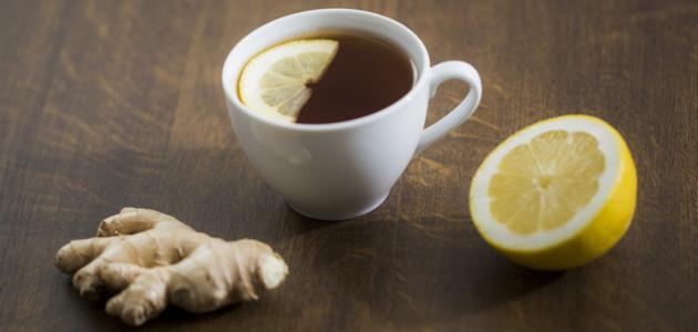 فوائد الزنجبيل والشاي الأخضر للتنحيف