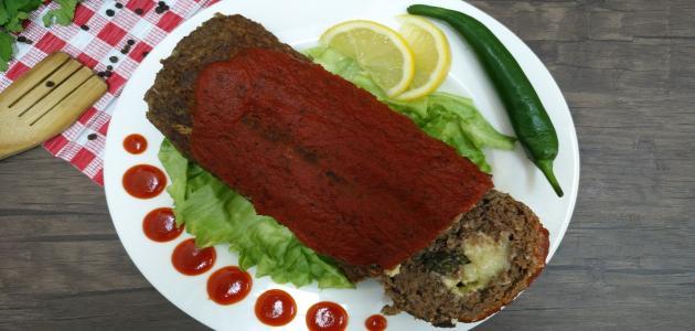 طريقة عمل قالب اللحم