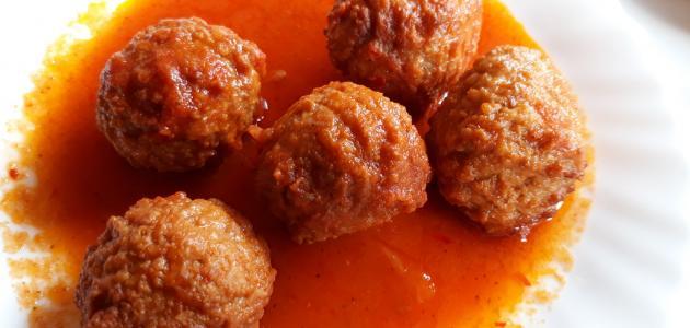 طريقة طبخ الكفتة بالطماطم