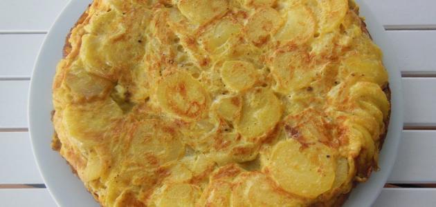 طريقة عمل البطاطس بالبيض