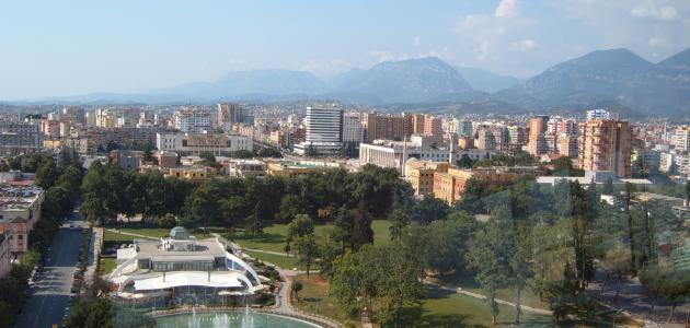 مدينة تيرانا